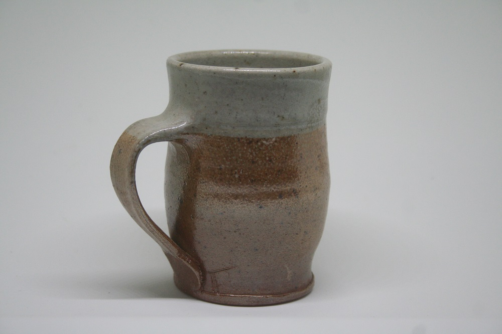 Salt glazed mug